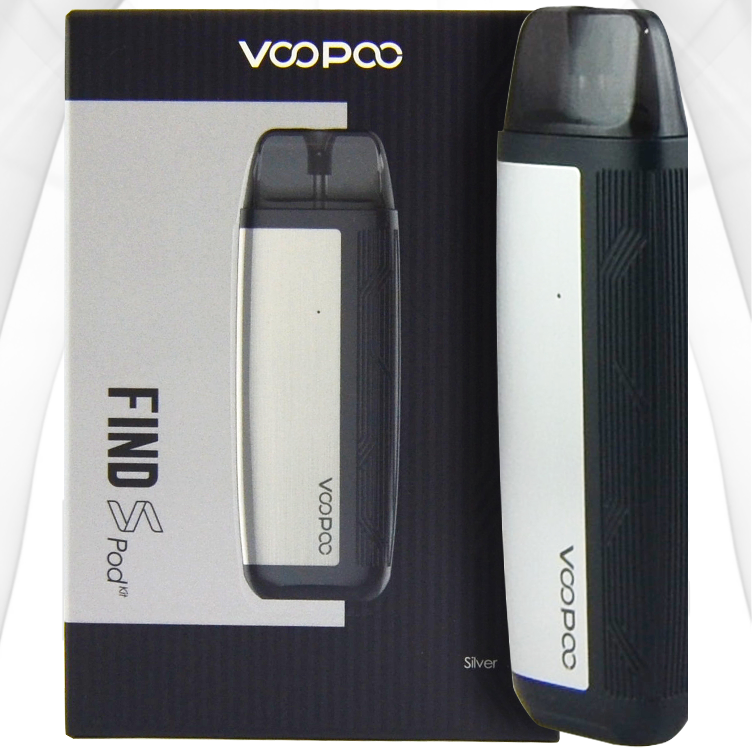 VOOPOO Find S Pod Kit 12W | Silver