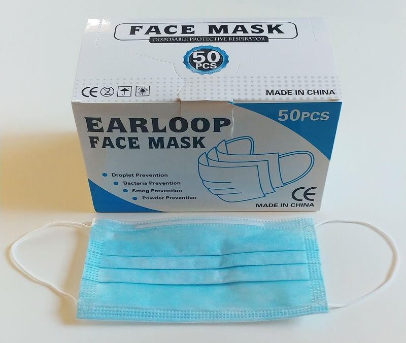 M3 Surgical face Masks 3-ply | 50 Per Box