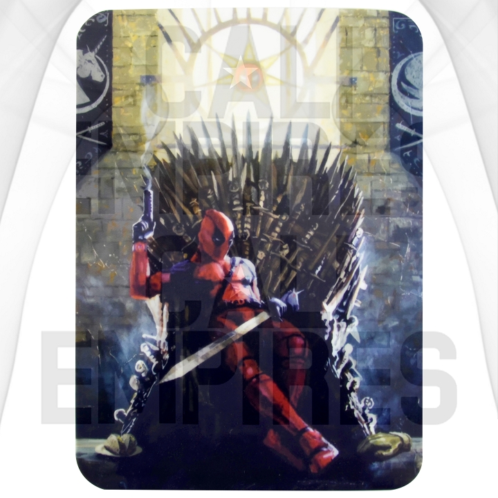 Silcone Dab Pad Smoking Station| Deadpool / GOT | 8