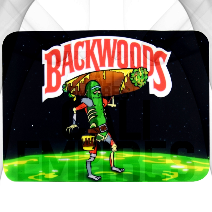 Silcone Dab Pad Smoking Station| Backwoods / Pickle Rick Characters | 8