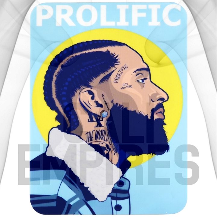 Silcone Dab Pad Smoking Station| Nipsey Prolific | 8