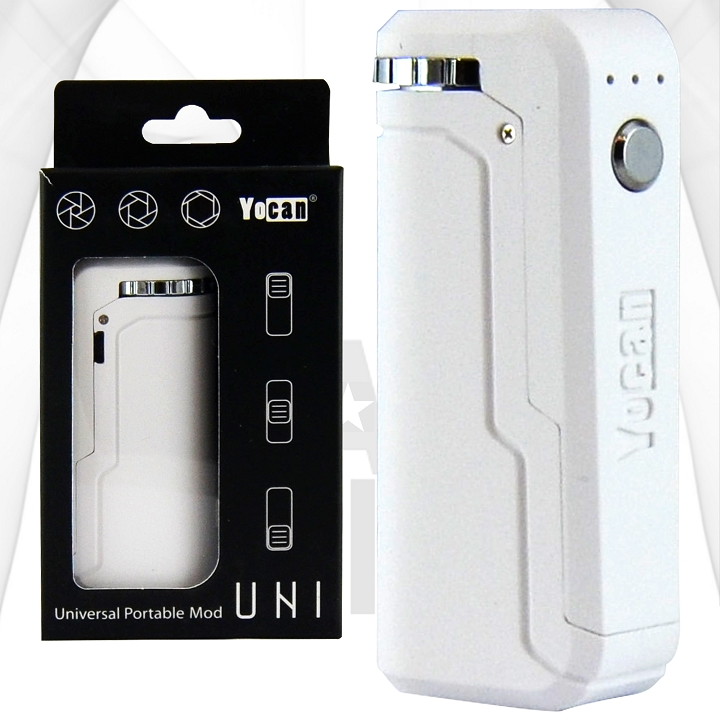 Yocan Uni Adjustable Cartridge Vaporizer | White