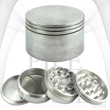 56 mm Aluminum Grinder | 3 Chamber | 4 Parts